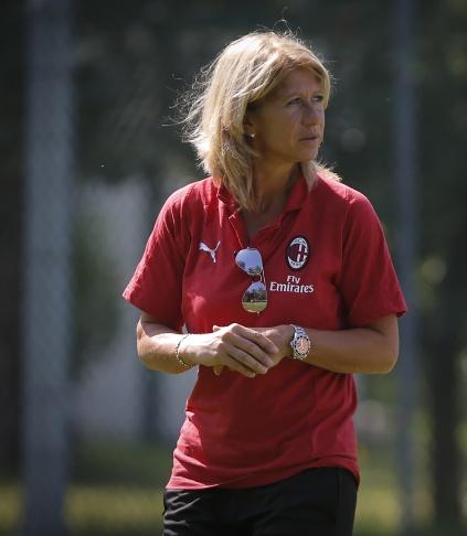 کارولینا ماراچی سرمربی تیم زنان میلان