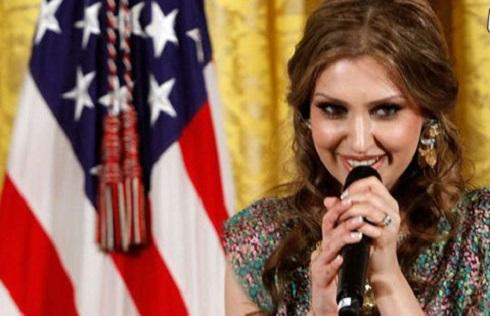 مژأه جمال زاده,مژده جمالزاده,مژأه جمالزاده در کاخ سفید,خواننده افغان و کاخ سفید