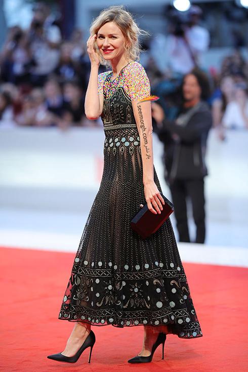 نائومی واتس Naomi Watts در جشنواره فیلم ونیز 2018 Venice Film Festival,جشنواره فیلم وینز,جشنواره ونیز,مدل لباس,مدل لباس در جشنواره ونیز,مدل لباس در جشنواره فیلم ونیز
