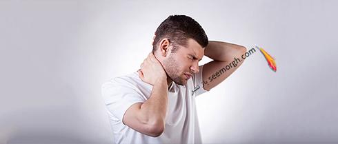 گردن درد,درد گردن