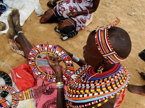 اموجا,روستای اموجا,روستای اموجا در کنیا,روستای زنانه,ورود آقایان ممنوع,روستای بانوان