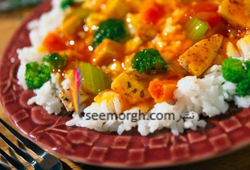 سبزیجات کریستالی,سالاد