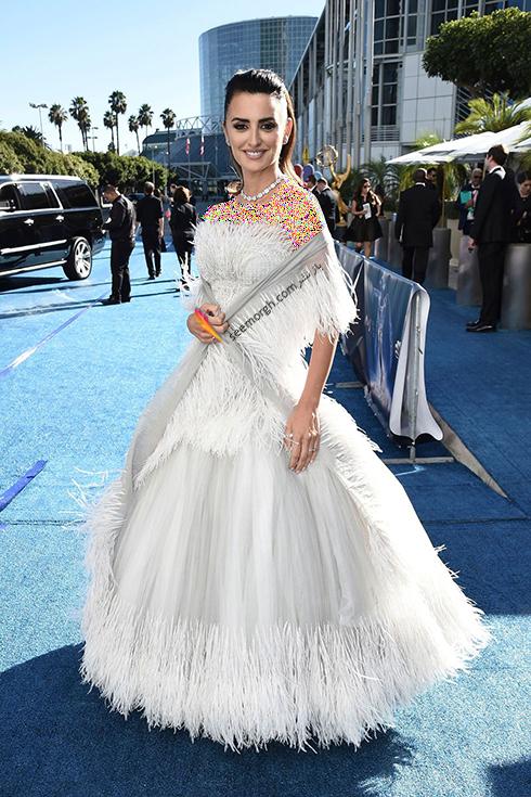 مدل لباس,مدل لباس در جوایز امی 2018,مدل لباس در جایزه امی 2018,بهترین مدل لباس در جایزه امی 2018,مدل لباس در جایزه امی  2018 Emmy - پنه لوپه کروز Penelope Cruz