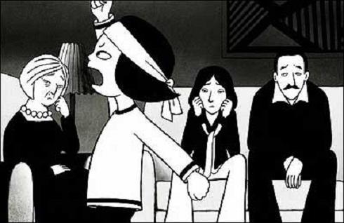 هالیوود,ایران در هالیوود,فیلم های هالیوود درباره ایران,انیمیشن پرسپولیس