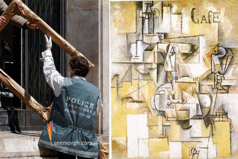 نقاشی Le Pigeon aux Petits-Pois  پیکاسو