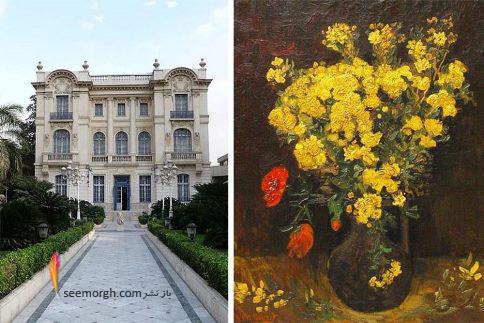 Poppy Flowers,ون گوک,نقاشی دزدیده شده
