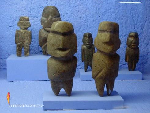 گنجینه های هنری,پیش کلمبیایی,آثار دزدیده شده