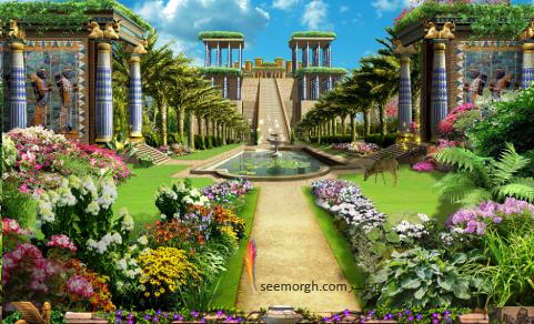 اهرام مصر,رازهای اهرام,مصر باستان,هرم بزرگ,جیزه,باغ های بابل