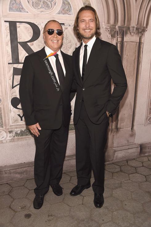 مدل لباس,مدل لباس در مراسم 50 سالگی برند رالف لورن,برند رالف لورن,جشن 50 سالگی برند رالف لورن,مدل لباس مایکل کورس Michael Kors در مراسم 50 سالگی برند رالف لورن Ralph Lauren
