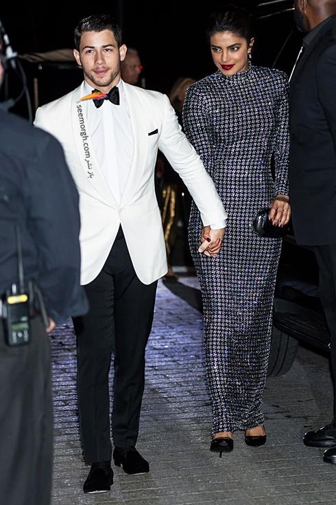 مدل لباس,مدل لباس در مراسم 50 سالگی برند رالف لورن,برند رالف لورن,جشن 50 سالگی برند رالف لورن,مدل لباس پریانکا چوپرا Priyanka Chopra در مراسم 50 سالگی برند رالف لورن Ralph Lauren