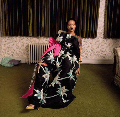 جدیدترین عکس های ریحانا Rihanna برای مجله مد گاراژ Garage,ریحانا,مجله مد گاراژ,عکس های جدید ریحانا,عکس های ریحانا برای مجله مد گاراژ