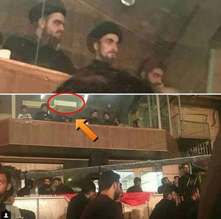 سید احمد خمینی: به خاطر حضورم در جایگاه ویژه عذرخواهی می کنم+تصویر