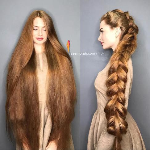 مو های خاص آناستازیا سیدورووا