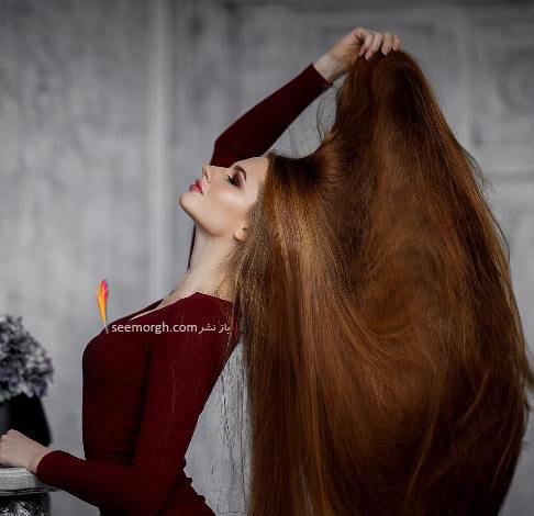 مو های دیدنی آناستازیا سیدورووا