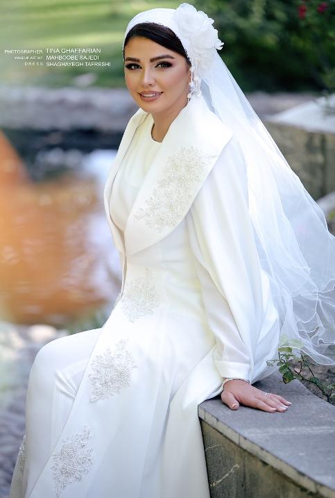 سیما خضرآبادی در جشن سالگرد ازدواجش