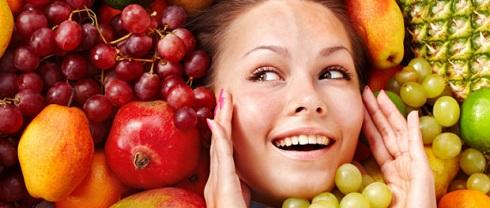 میوه ها,تاثیر میوه ها بر پوست