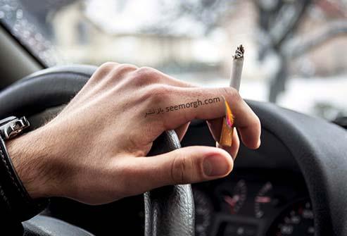 سیگار کشیدن و رانندگی