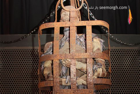 شکنجه,موزه شکنجه,موزه شکنجه آمستردام,قرون وسطی,قفس انسان