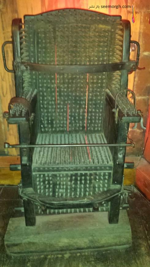 شکنجه,موزه شکنجه,موزه شکنجه آمستردام,قرون وسطی,صندلی شکنجه