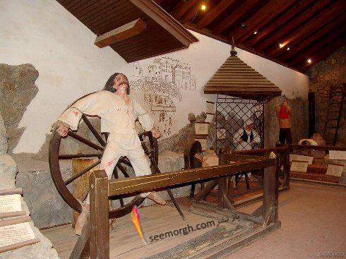 شکنجه,موزه شکنجه,موزه شکنجه آمستردام,قرون وسطی,چرخ کشنده