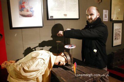 شکنجه,موزه شکنجه,موزه شکنجه آمستردام,قرون وسطی,خرد کننده سر
