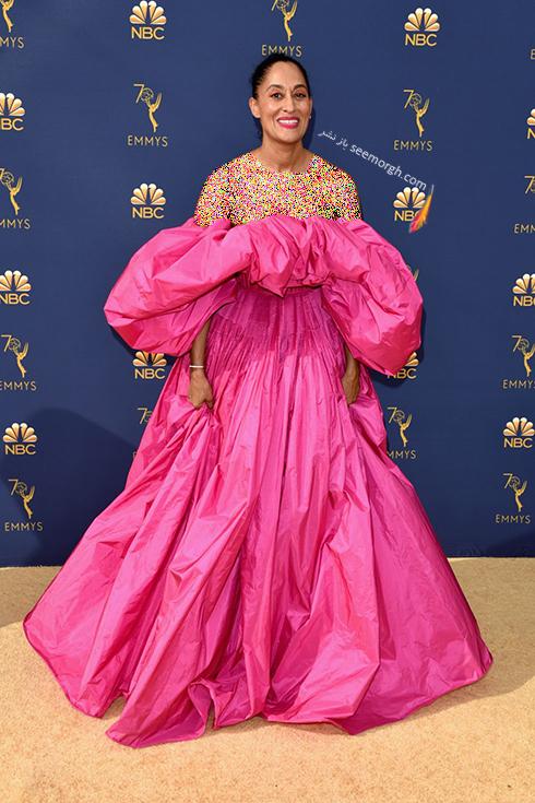 مدل لباس,مدل لباس در جوایز امی 2018,مدل لباس در جایزه امی 2018,بهترین مدل لباس در جایزه امی 2018,مدل لباس در جایزه امی  2018 Emmy - تریسی الیس روس Tracee Ellis Rossi