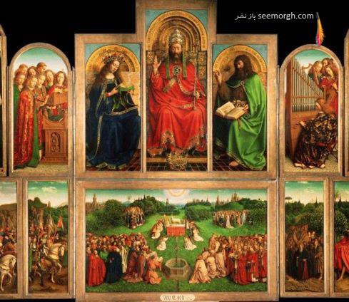 Van Eyck,ون ایک,تابلو,دزدی
