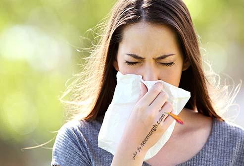 آلرژی،آبریزش بینی،سرماخوردگی