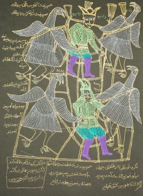 نقاش معاصر,ذبیحالله محمدی