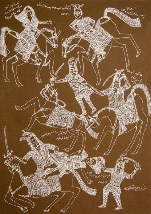 نقاش خودآموخته,نقاش معاصر,ذبیحالله محمدی