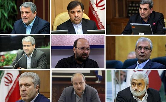 کاندیداهای احتمالی شهرداری تهران