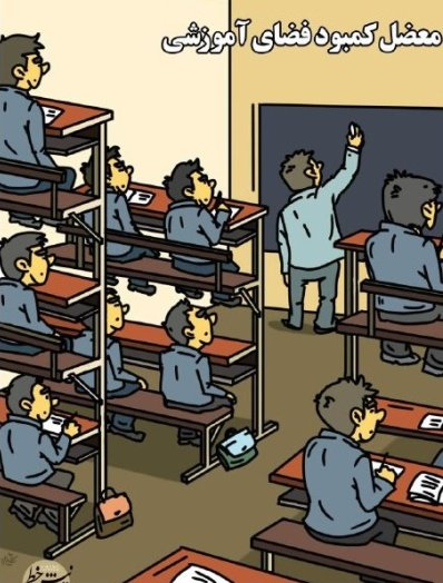 راه حل رفع مشکل کمبود فضای آموزشی