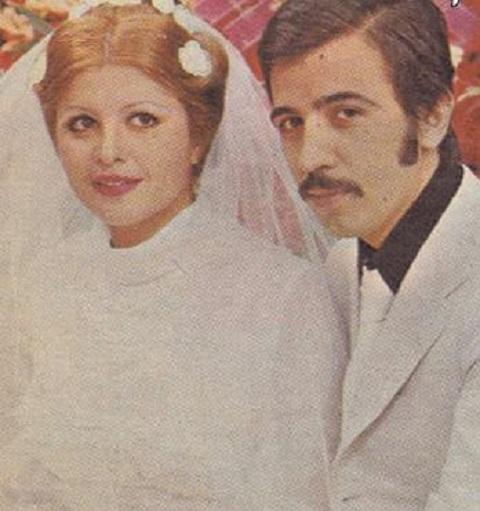 ازدواج علی حاتمی,خواستگاری علی حاتمی,مادر لیلا حاتمی,ازدواج,مراسم عروسی