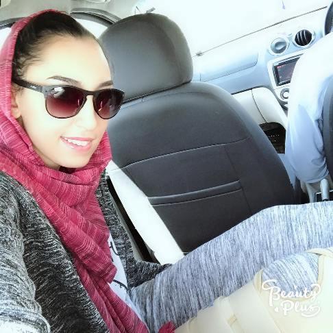 کیمیا علیزاده پس از جراحی