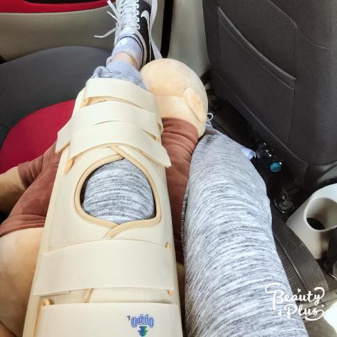 کیمیا علیزاده پس از جراحی 2