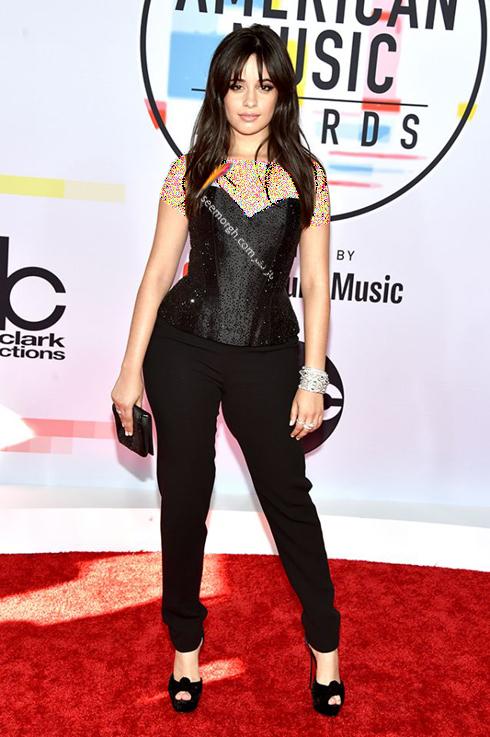 مدل لباس,بهترین مدل لباس,مدل لباس در جوایز موسیقی آمریکا,مدل لباس های برتر در American music awards 2018 - کامیلا کابلو Camila Cabello
