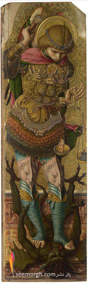 سنت مایکل، Carlo Crivelli ،1476، گالری ملی
