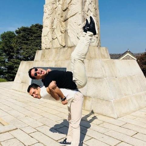 عليرضا فغاني در سئول کره جنوبي