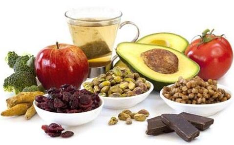 میوه ها و سبزیجات منبع فلاونوئید