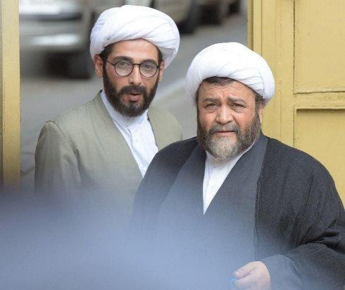 سلام علیکم حاج آقا,عکس,محمدرضا شریفینیا,حمید گودرزی,روحانی,گریم