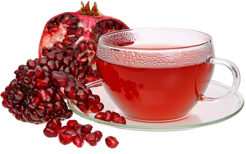 چاي انار