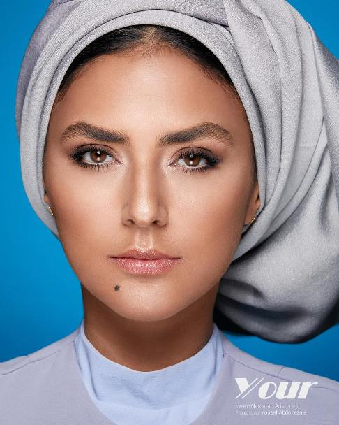 عکس تبلیغاتی هدی زین العابدین