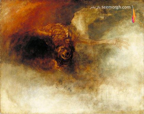 نقاشی ترسناک, سقوط هرج و مرج, ویلیام ترنر،