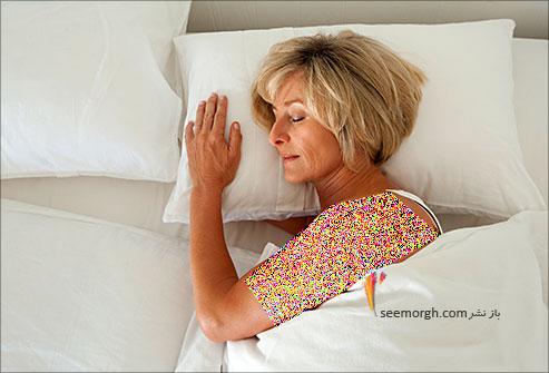 خواب,زن خوابیده