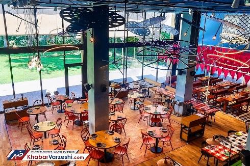 نمای داخلی رستوران لیونل مسی