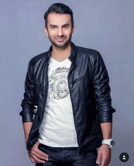 مدل شدن محمدحسین میثاقی