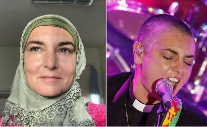 شینید اوکانر قبل و پس از مسلمان شدن