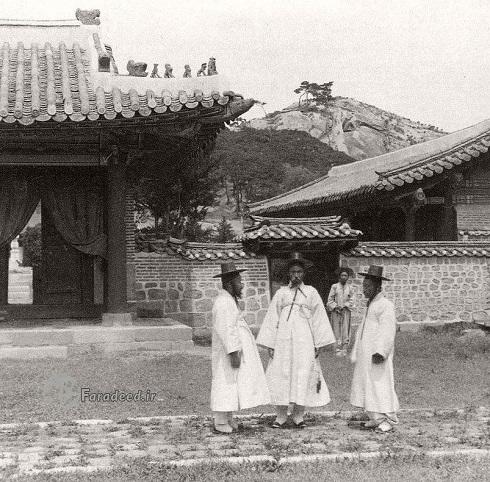 سئول,پایتخت کره,پایتخت کره جنوبی,سئول پایتخت کره جنوبی,تصویر قدیمی از سئول