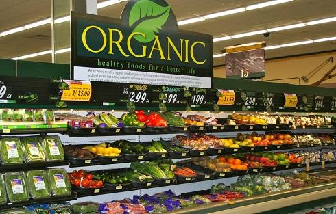 قفسه مواد غذایی ارگانیک