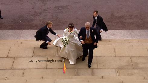 مراسم عروسی,لباس عروس,لباس عروس نوه ملکه انگلیس,مراسم عروسی نوه ملکه انگلیس,لباس عروس پرنسس اوژنی Eugenie نوه ملکه انگلیس - عکس شماره 5